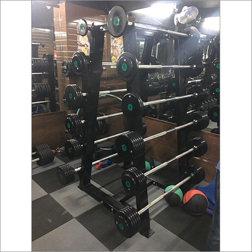 Barbell With Rack
