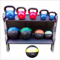 Kettlebell & Swiss Call With Rack