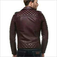 Mens Designer Leather Jacket