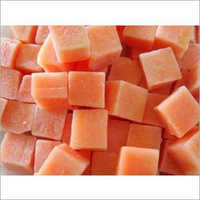 Frozen Papaya Dices