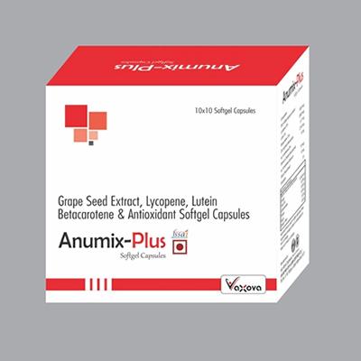 Betacarotene Antioxidant Softgel Capsules