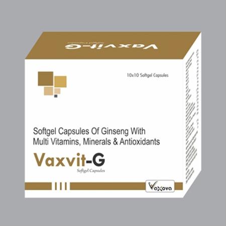 Softgel Capsules Multi Vitamins Minerals Capsules