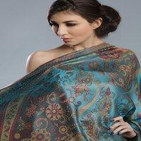 100% Silk Shawl