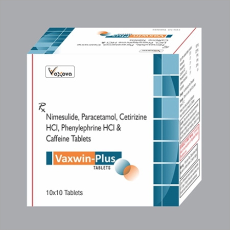 Paracetamol Cetirizine Phenylephrine Tablets
