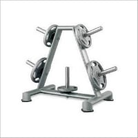 Gym Weight Plate Rack