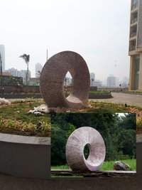 Traffic Circle Sculpture