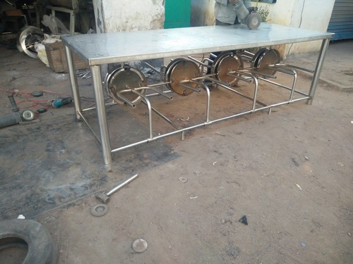 Stainless steel Lunch Table