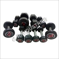 Rubberized Hexagonal Dumbbell