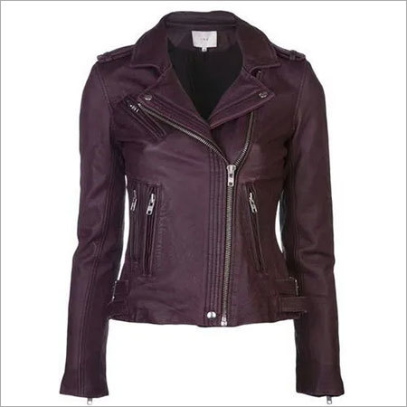 Ladies Designer Leather Jacket