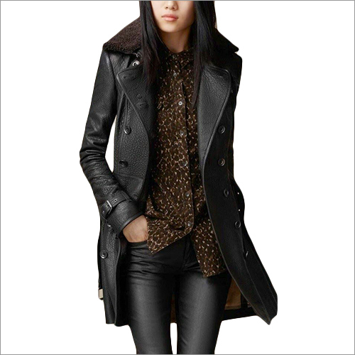 Fancy Ladies Leather Jacket