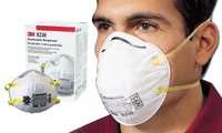 3 M 8210 N 95 Mask And Respirator