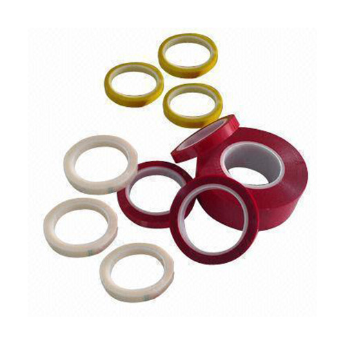 Red Polyester Adhesive Tape