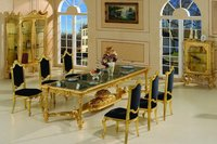 Gold Plated Dinning Table