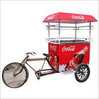 Vending Beverages  Cart