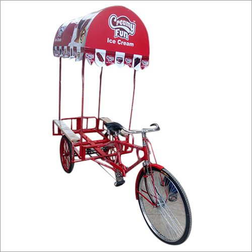 Tricycle Ice Cream Cart