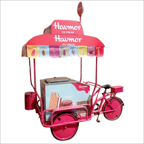 Electric Freezer Ice Cream Cart