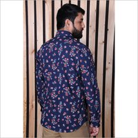 Mens Full Sleeve Printed Shirt