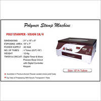 Seemandhar Seal Stamp Making Machine, Capacity: 10-15 Stamps Per Hour