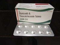 Etoricoxib + Thicolchicosede