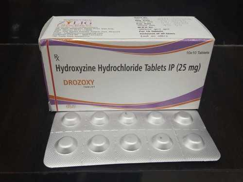 Hydroxyzine Hydrochloride Sustained Pharmaceutics | Asdela