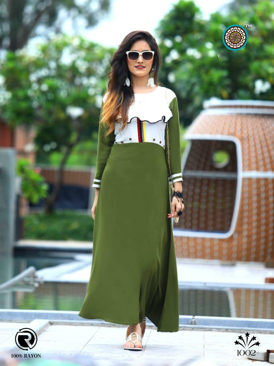 Designer Rayon kurti Collection