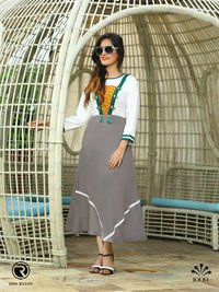 Designer Rayon kurti Collection