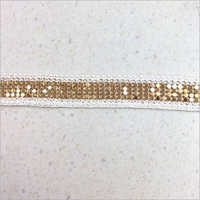 Trim Metal Chain Lace