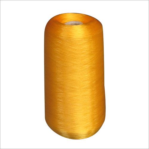 Yellow HDPE Monofilament Yarn