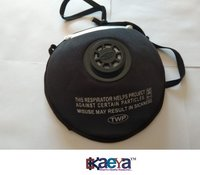 Okaeya-Anti Pollution Dust Mask With Adjustable Nose Clips in Black