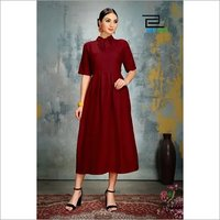 Crepe Gown Low Range