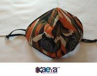 OkaeYa- Pro Anti Pollution Washable Military Grade Respirator with Adjustable Straps Mask