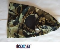 OkaeYa-Army Winter Fleece Wind-waterproof Softshell Air Pollution Mask