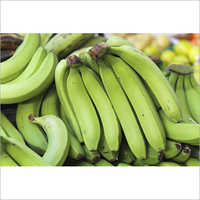Natural Green Banana
