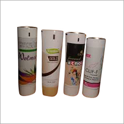 Cream Laminated Tube
