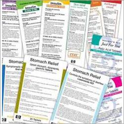 Pharmaceutical Printed Labels