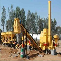 Semi Automatic Asphalt Drum Mix Plant
