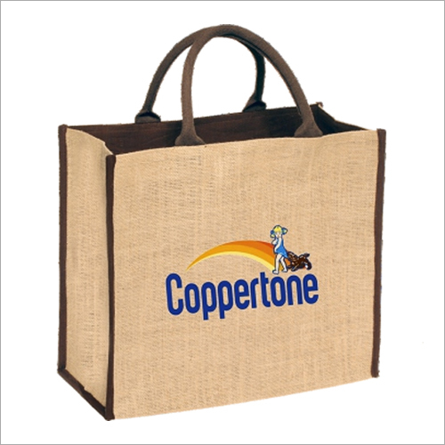 Customized Logo Jute Bag