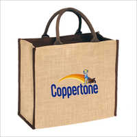 Customized Logo Jute Bag