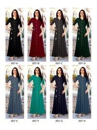 Rayon stylish long kurtis