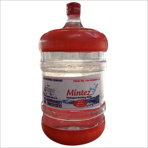 Plastic Packaged Water Jar