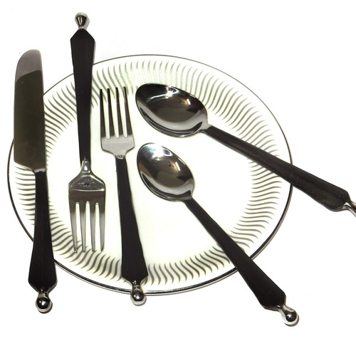 Ridge Knob Hand Forge Flatware Cutlery Set