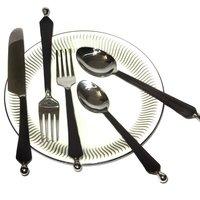 Ridge Knob Hand Forge Flatware Cutlery Set