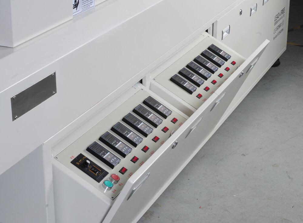 A6 SMT Assembly PCB Reflow Oven