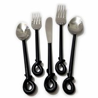 Single Knot Flatware Hand Forge Cutlery Set
