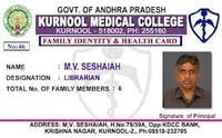 Collage Id Card