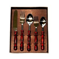 Beautifully Carved Flatware Cutlery Set