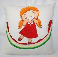 Doll Print Cushion Cover