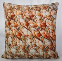 Jute Print Cushion Cover
