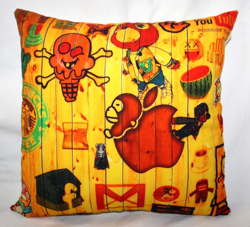 Funny Print Cushion Cover