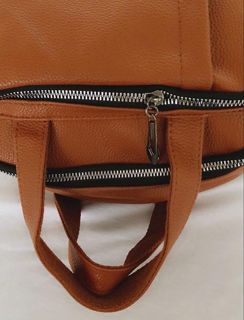 Ladies Soft Leather Travel Bag